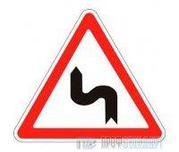 Дорожный знак 1.12.2 «Опасные повороты»
