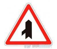 Дорожный знак 2.3.8 «Примыкание второстепенной дороги справа»