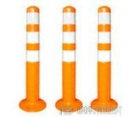 Гибкий дорожный столбик 1000 мм (4 цвета)