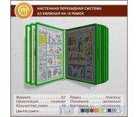 Настенная перекидная система А2 книжная на 10 рамок