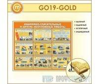 Стенд «Аварийно-спасательные и другие неотложные работы» (10GO-19-GOLD00)
