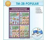 Стенд «Безопасная эксплуатация газораспределительных пунктов» (10TM-28-POPULAR00)