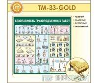 Стенд «Безопасность грузоподъемных работ» (10TM-33-GOLD00)