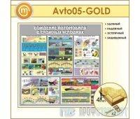 Стенд «Вождение автомобиля в сложных условиях» (10AV-05-GOLD00)