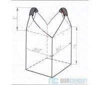 Мягкий контейнер МКР -1,0 С2-1,0 ППР, верх-открытый, низ-глухой