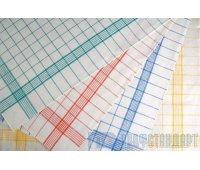 Полотенце льняное 50х70 (Полу-лен (х/б 70%, лен 30%, 150г/м2, полоса , клетка)