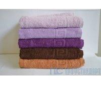 Махровое полотенце 380г/м 150х210