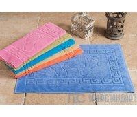 Махровый коврик для ног 50*70 цветной
