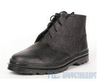 Ботинки юфть 14 см