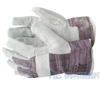 Перчатки спилковые комбинированные «Трал»