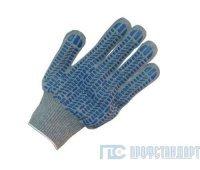 Перчатки 4-нити 7,5 скласс ПВХ Протектор (эконом)
