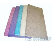 Полотенце махровое 45*70 цветные, ножки 500 г/м2